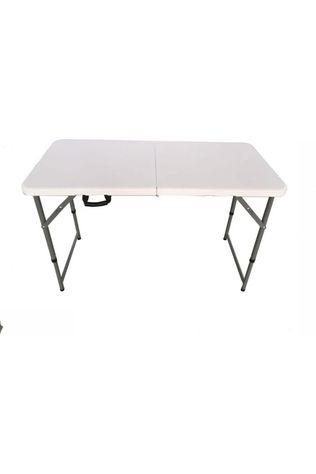 Transfilco Table Vouwbaar PVC 122X61 Cm white