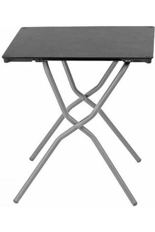 Lafuma Mobilier Table Balcony Square dark grey/white