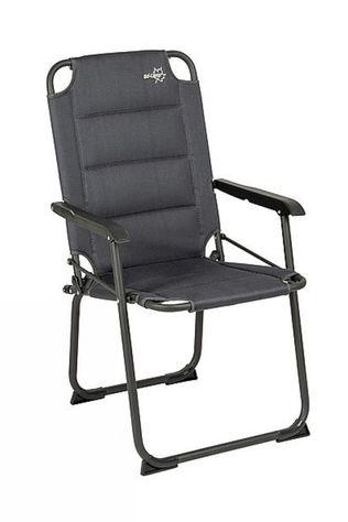Bo-Camp Chaise Copa Rio 3D Air Gris Moyen