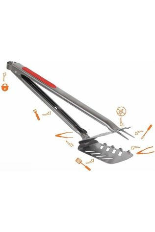 TNK Brand Gadget Stingray 7 in 1 BBQ Multitool Middenrood/Zilver