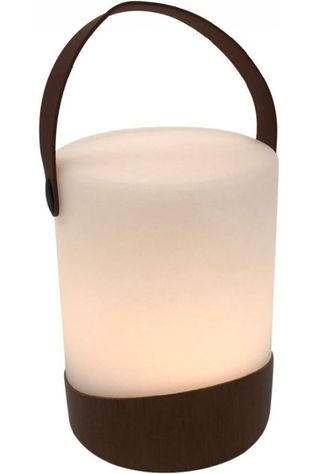 Human Comfort Gadget Cosy Lamp Mably Wood Wit/Bruin