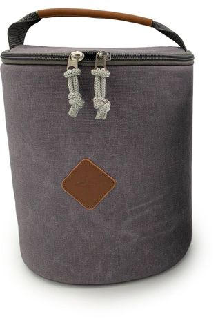 Barebones Living Gadget Padded Lantern Bag mid grey/black