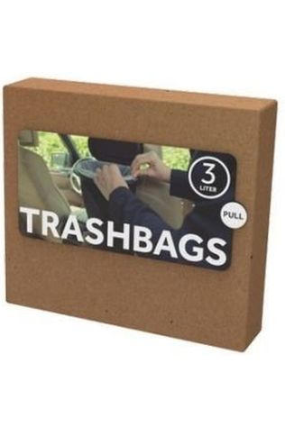 Flextrash Gadget Trashbags Bio 3L 10Pcs No colour / Transparent