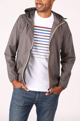 K-Way Coat Le Vrai 3,0 Claude mid grey