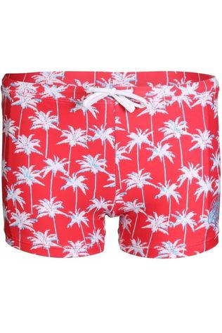 Knot so bad Slip Palm Rood/Assortiment Bloem