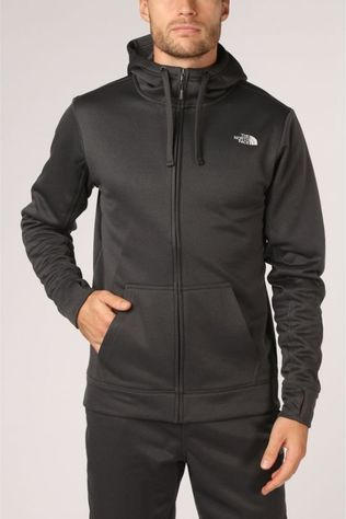 The North Face Trui Surgent Full Zip Donkergrijs Mengeling