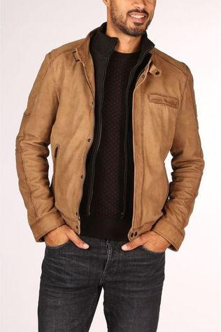 Oakwood Coat 62986 mid brown