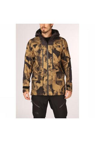 The North Face Manteau Steep Ceptor Futurelight Kaki Moyen/Assortiment Camouflage