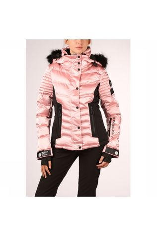 Superdry Jas Luxe Snow Puffer Middenroze