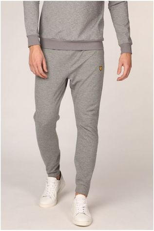 Lyle & Scott Joggingbroek Lightweight Training Track Lichtgrijs Mengeling