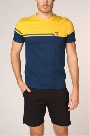 Lyle & Scott T-Shirt Block Petrol