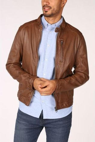 Oakwood Manteau Agent Marron Chameau