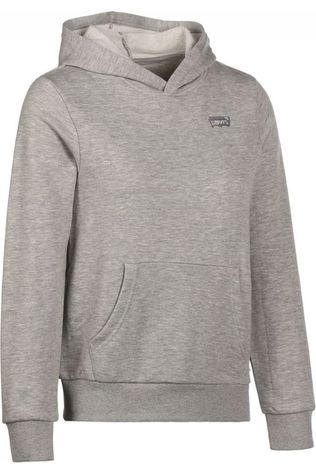 Levi's Kids Pull Batwing Chest Hit Hoodie Gris Clair Mélange