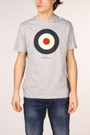 Ben Sherman T-Shirt 2001-Ts0059935 Light Grey Mixture