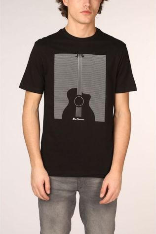 Ben Sherman T-Shirt 2001-Ts0059056 black