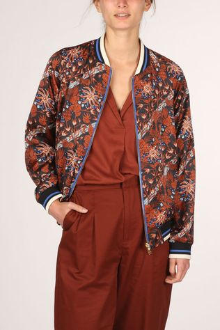Maison Scotch Blazer 158774 Rouille/Bleu