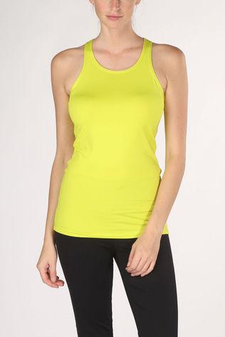 Röhnisch Top Leona Long Tank Top yellow