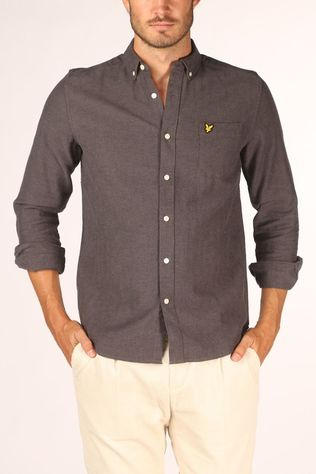 Lyle & Scott Shirt 2002-Lw1314V Dark Grey Marle
