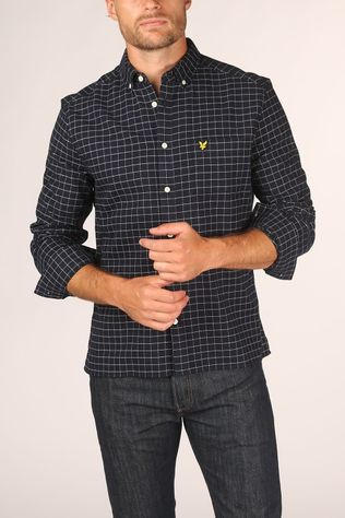 Lyle & Scott Shirt 2002-Lw1320V Dark Blue/Ass. Geometric