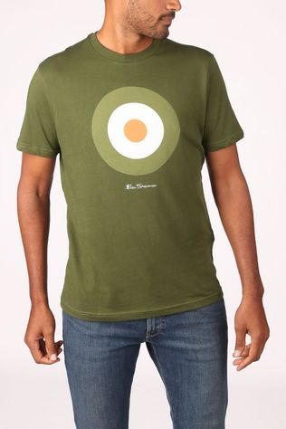Ben Sherman T-Shirt 2002-Ts0059935 mid green