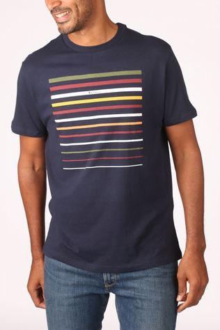 Ben Sherman T-Shirt 2002-Ts0061643 dark blue