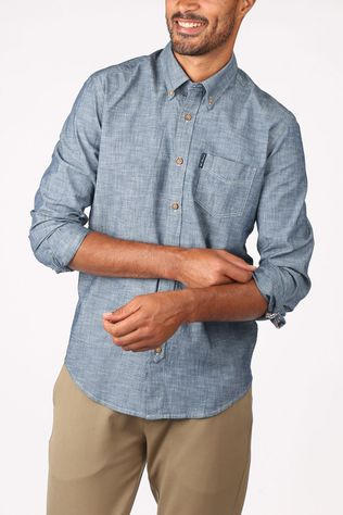 Ben Sherman Shirt 2002-Sh0059147 Blue (Jeans)