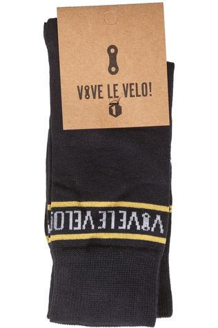 Vive le Velo Sock Chain Socks Duo Dark Blue/Ass. Geometric
