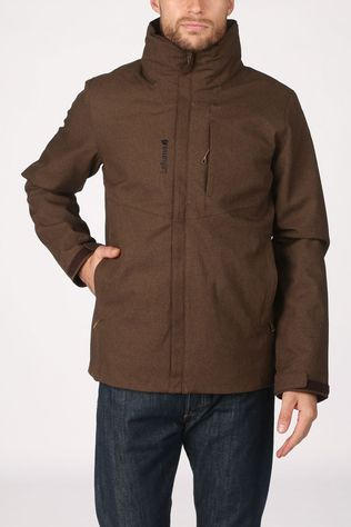 Lafuma Manteau Access Heather 3In1 Fleece Brun Foncé