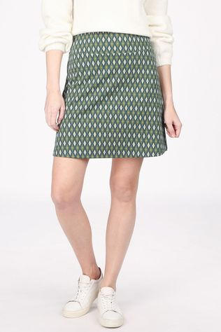 King Louie Skirt Border Skirt Deuce green