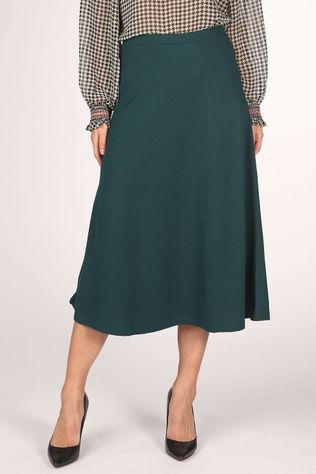 King Louie Skirt Juno Skirt Milano Crepe dark green