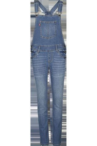 Levi's Kids Jumpsuit Lvg Girlfriend Overall Jeans/Bleu Moyen