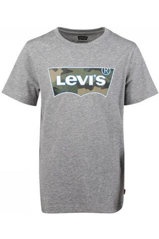 Levi's Kids T-Shirt Lvb Ss Graphic Dark Grey Marle
