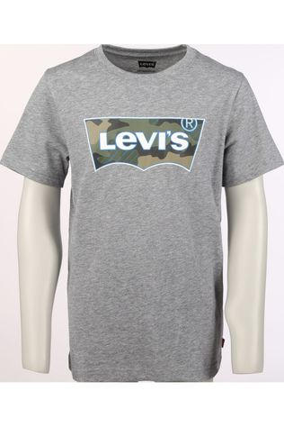 Levi's Kids T-Shirt Lvb Ss Graphic Dark Grey Mixture