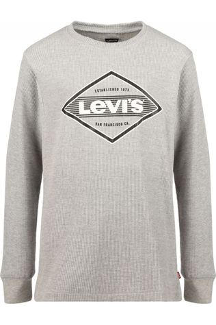 Levi's Kids T-Shirt Lvb Thermal Light Grey Marle