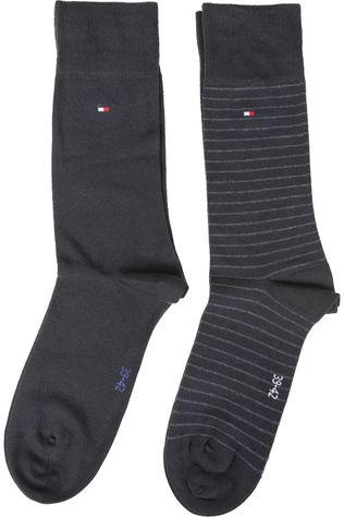 Tommy Hilfiger Socks Sock Small Stripe dark blue/royal blue