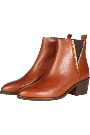 River Woods Boot Emy Camel Brown