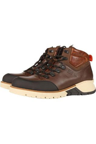 River Woods Boot Flame dark brown