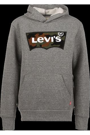 Levi's Kids Pullover Lvb Chenille Batwing Dark Grey Mixture