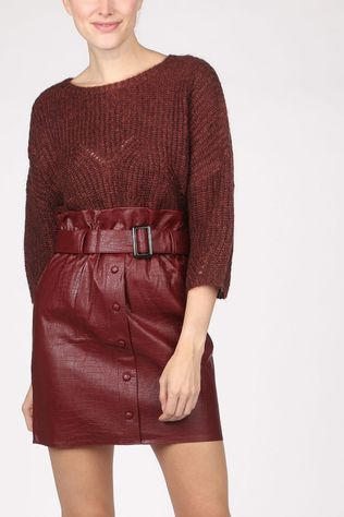 Orfeo Pullover Helena Bordeaux / Maroon