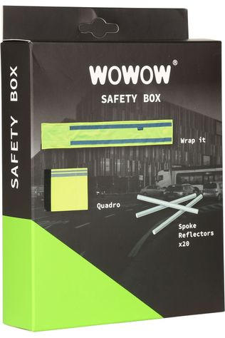 Wowow Cadeau Mannen Safety Box Light Geen kleur / Transparant