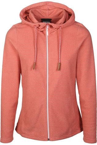 Ayacucho Trui 10Y Whistler Full Zip Hoody W Donkerrood/Wit