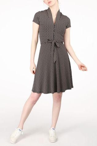 King Louie Dress Emmy Fresno black/mid green