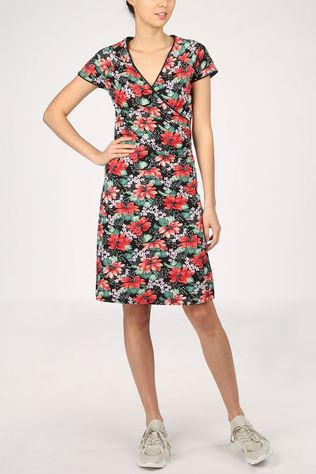 King Louie Dress Cross Pacifica black/red