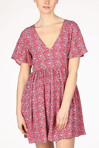 Pepe Jeans Robe Carolina Rouge/Bleu
