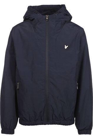 Lyle & Scott Jas Panel Windcheater Donkerblauw