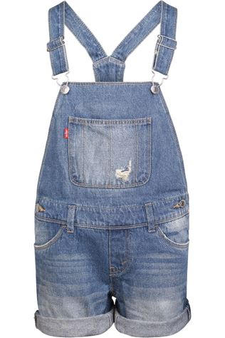 Levi's Kids Jumpsuit Lvg Shortall Denim / Jeans/Mid Blue (Jeans)