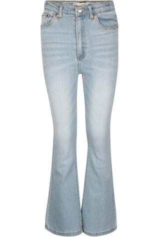 Levi's Kids Jeans Lvg Ankle Flare Denim / Jeans/Light Blue (Jeans)