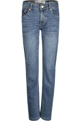 Levi's Kids Jeans Lvb 502 Regular Taper Denim / Jeans/Middenblauw (Jeans)