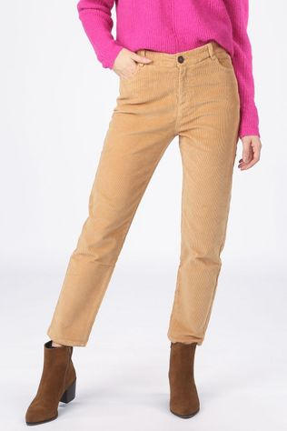 Yerse Trousers 33813 Camel Brown