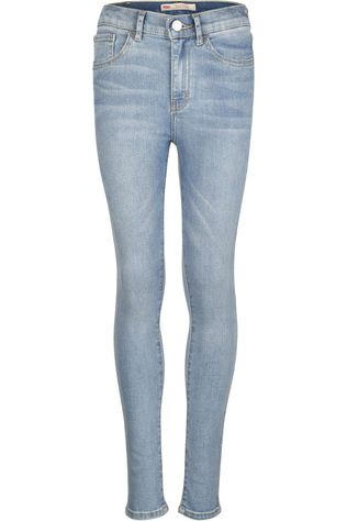 Levi's Kids Jeans Lvg 720 High Rise Super Skinny Denim / Jeans/Middenblauw